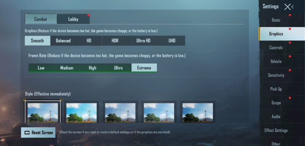 Battlegrounds Mobile India Best Graphics Settings to Fix Lag