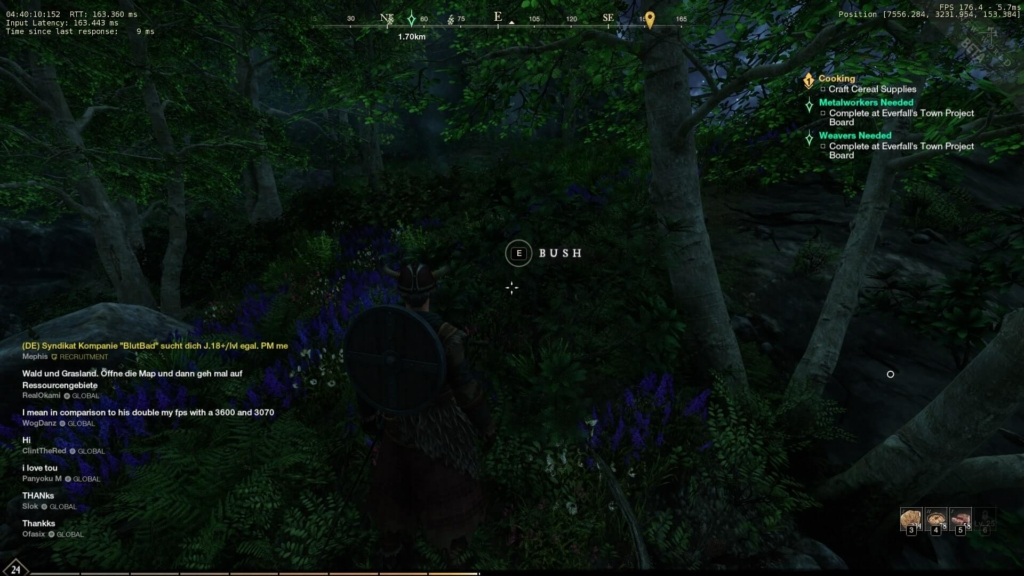 How to get high fps in new world game
